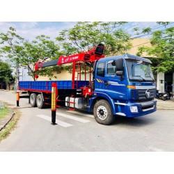 Xe cẩu tự hành ATOM 7 tấn gắn xe Auman 3 chân