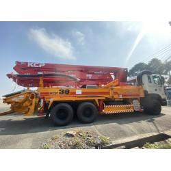 Xe bơm bê tông cần Hyundai KCP 38m 5 đoạn KCP38ZX5170